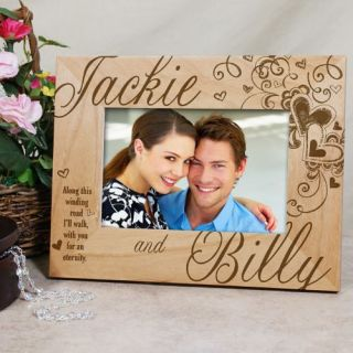 Picture Frame Hearts Love Valentines Photo Frame 3 Sizes