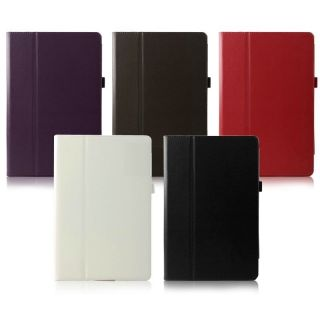 Folio Leather Case Cover for Microsoft Windows 8 WIN8 Surface RT Pro