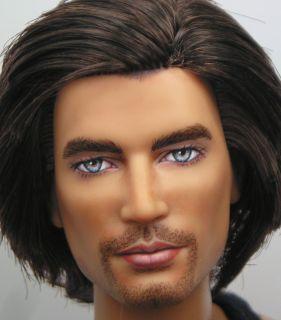 Ian OOAK Barbie Basics Black Label Ken Doll Art Repaint by Pamela