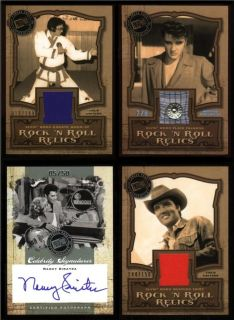 The Music Factory SEALED Hobby Box Autographs Costume Cards