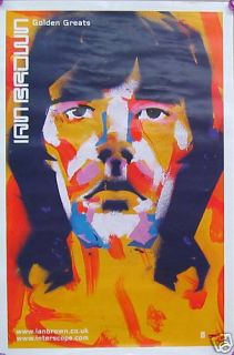 Ian Brown Poster Golden Greats B14