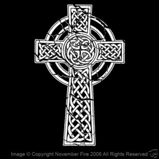 Christian Celtic Cross Shirt Pagan Symbol Gaul Iberia