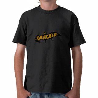 Dracula Vampire Bat Tee Shirt
