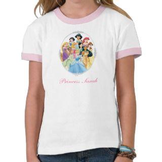 Princesas 11 de Disney Tshirts de