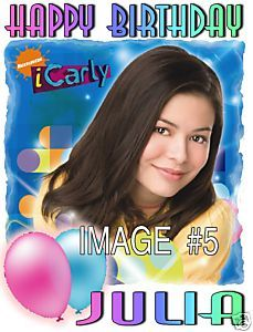 iCarly Miranda Cosgrove Birthday Party T Shirt Favors