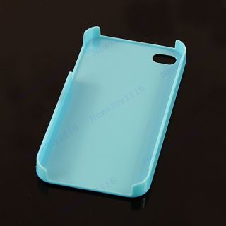 Lovely Cute Candy Ice Cream Glossy Hard Case Cover Skin for Apple