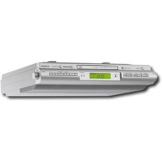 Sony ICFCDK50 Under Cabinet Kitchen CD Clock Radio ICF CDK50