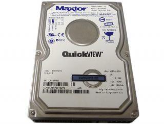 Maxtor 160GB 8MB Cache 7200RPM 3 5 IDE PATA Hard Drive 6L160P0 Free