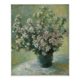 Florero de las flores, c.1881 82 Claude Monet Posters de