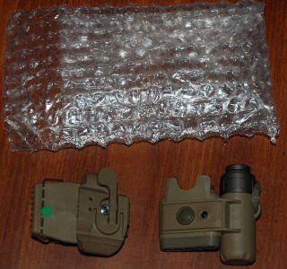HELMET LIGHT HL1 D GREEN INFARED LED IR IFF Army USMC ACH LWH USGI