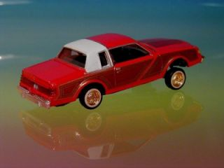 Hot 82 Buick Regal Custom Lowrider Limited Edition Red 1 64 Scale
