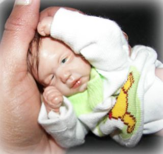 OOAK Polymer Clay Baby William by Ileanaj