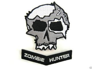ill Gear Doomsday WAR SKULL Zombie Hunter Velcro Patch apocalypse