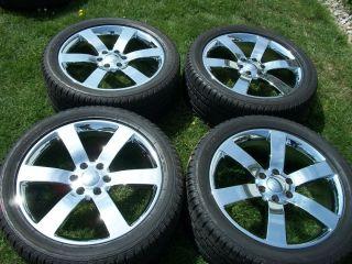 22 silverado yukon wheels factory trailblazer ss style CHROME escalade