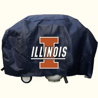 Illinois Fighting Illini Grill Cover Standard NCAA