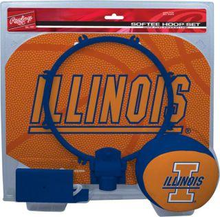 Illinois Fighting Illini Slam Dunk Softee Hoop Set