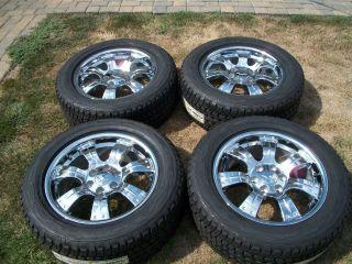 20 Silverado Chrome GM Wheels New Avalanche Suburban Yukon GMC