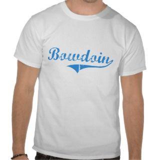 Bowdoin Maine Classic Design Tshirts
