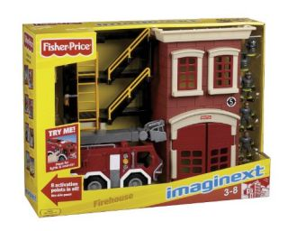 New Fisher Price Imaginext Fire Truck Playset