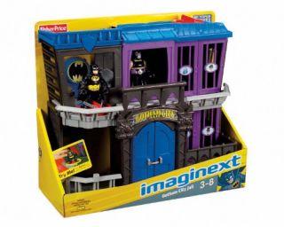 Fisher Price Imaginext Batman Gotham Jail New