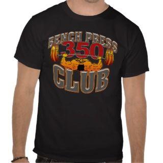 350 Club Bench Press TShirt