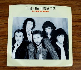 Mike And The Mechanics All I Need Is A Miracle Record 7 Inch Vinyl