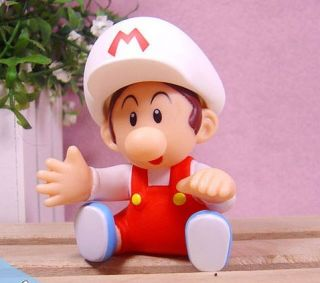 Super Mario Bros Auction Figure Baby Mario Toy TBMR