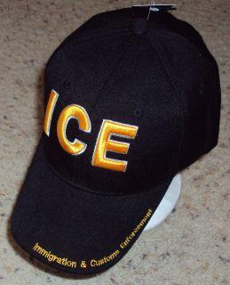 Ice Immigration Custom Law Enforcement Baseball Cap Hat
