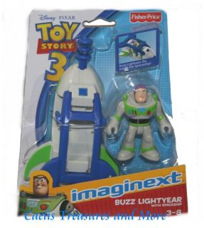 Fisher Price Imaginext Toy Story 3 Buzz Lightyear Spaceship New