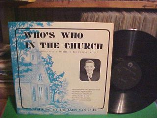 Dr Jack Van Impe LP Whos Who in The Church Sermons Cover by David