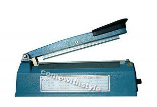 110V Brand New 8  Bag Sealer Impulse Heat Closer Kit US Seller