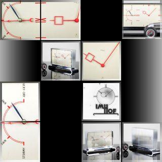 Arthur Imhof RARE 1930s Bauhaus Art Deco Barometer 8 Day Clock Desk
