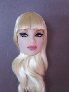 Convention Mission Control Imogen Platinum Mod Fashion Doll Head New