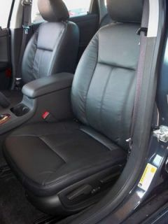 2011 2012 Impala Leather Interior Seat Cover Black