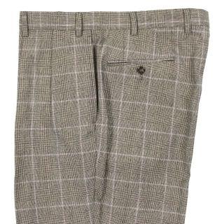 Polo Ralph Lauren Black Wool Cashmere Suit 43 L New
