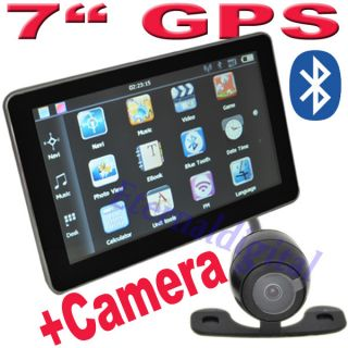 Car GPS Navigation Bluetooth AV in 4GB New Map SAT Navi Rear View