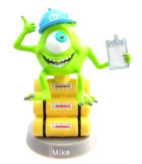 Disney Pixars Fu Face Jr Bobble Head Figure Monster Inc Mike