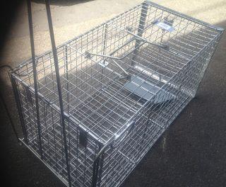 Humane Possum Cage Rat Cat Rabbit Bird Trap Spring Loaded Design Brand