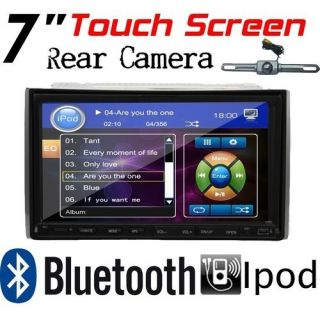 DIN 7 Car in Dash DVD Player Stereo Radio iPod TV MP3 Camera