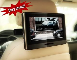 Ford Expedition 9 Headrest DVD Player Rear Entertainment Self Install