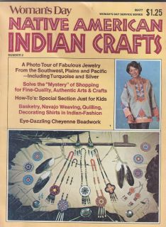 Day Native American Indian Crafts 2 Magazine Beadwork More