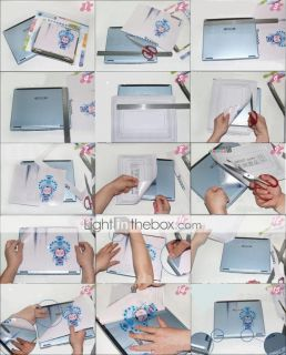 USD $ 7.30   Laptop Notebook Cover Protective Skin Sticker(SMQ2387