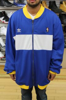 Indiana Pacers Adidas Classic Warm Up Jacket Men New
