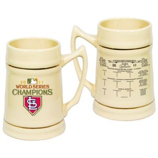 St Louis Cardinals 2011 World Series Champions 24oz Ceramic Stein