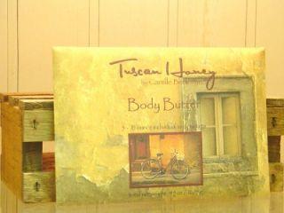 Camille Beckman Body Butter Creme Gift Basket Supplies Tuscan Honey 11