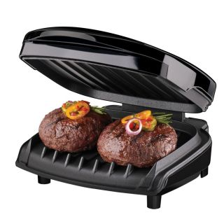 George Foreman GR10B Indoor Grill Cooking Easy Fast Healthier