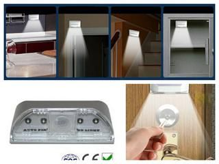 Operated IR Infrared Motion Sensor Home Indoor Lighting Light Lamp
