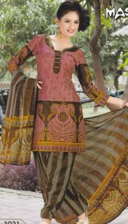 Salwar Kameez Indian Suits Designer Cotton Fancy Printed Bollywood