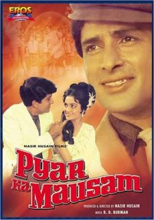 Bollywood Movie Pyar Ka Mausam DVD Starring Shashi Kapoor, Asha Parekh