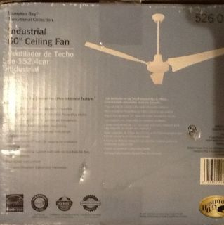 Hampton Bay Industrial Home Large Room 60 Ceiling Fan 526012